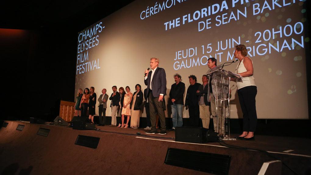 Coup d'envoi du Champs-Elysées Film Festival 2017