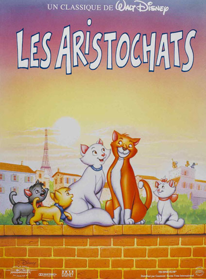1971 -  Les Aristochats