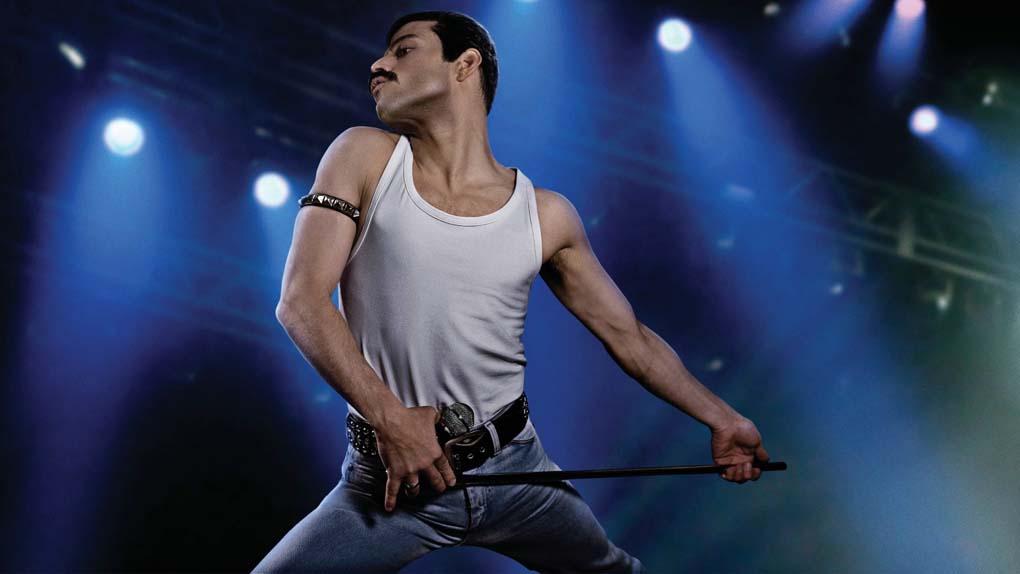 """""""Bohemian Rhapsody"""" avec Rami Malek, Gwilym Lee, Joseph Mazzello ..."""