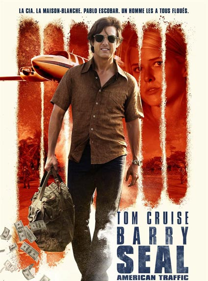 N°5 - Barry Seal : American Traffic : 138 349 entrées