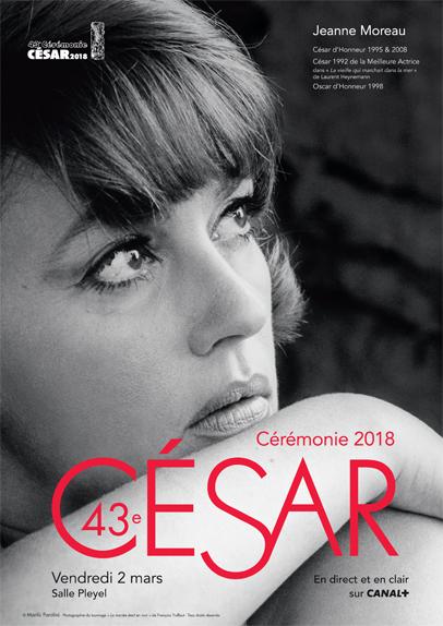 César 2018 : Jeanne Moreau