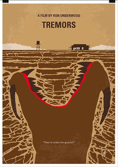 Tremors - affiche réalisée par Vincent Vermeij