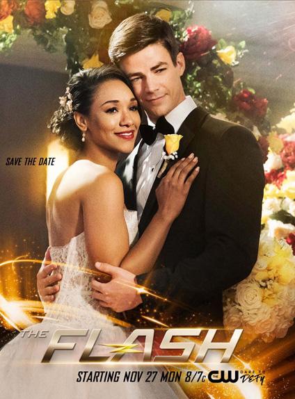 L'affiche du cross-over promet le mariage entre Barry et Iris