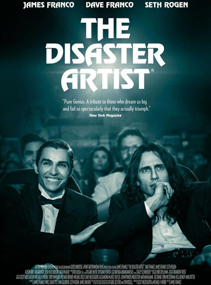 N°4 - The Disaster Artist : 6,43 millions de dollars de recettes