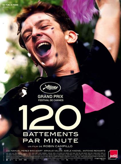 120 battements par minute remporte le Grand Prix 2017 du Club Média Ciné