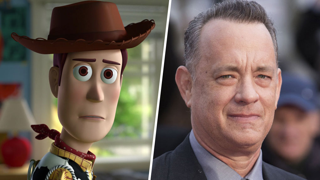 Woody (Toy Story) est interprété par... Tom Hanks