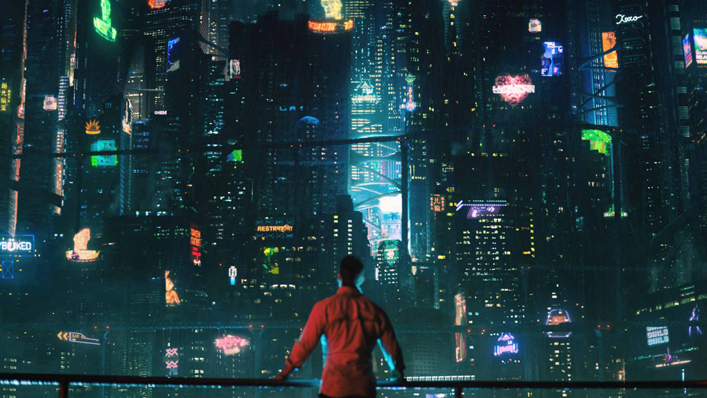 "Bay City dans ""Altered Carbon"" (2018)"