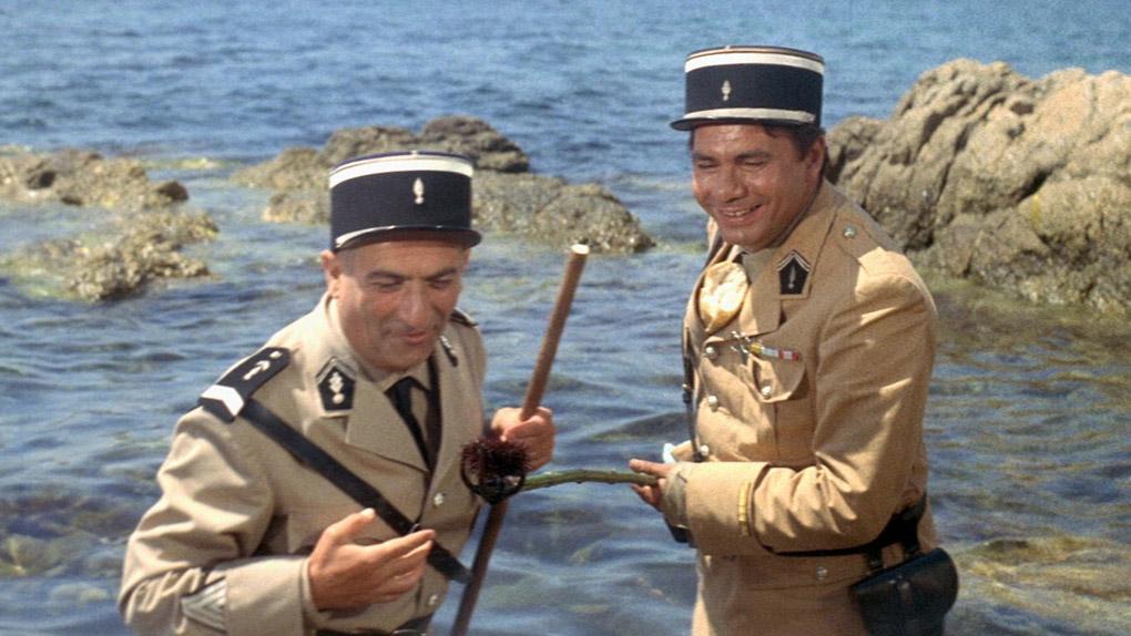 """En Provence-Alpes-Côte d'Azur a été tourné... """"Le Gendarme de Saint-Tropez"""""""