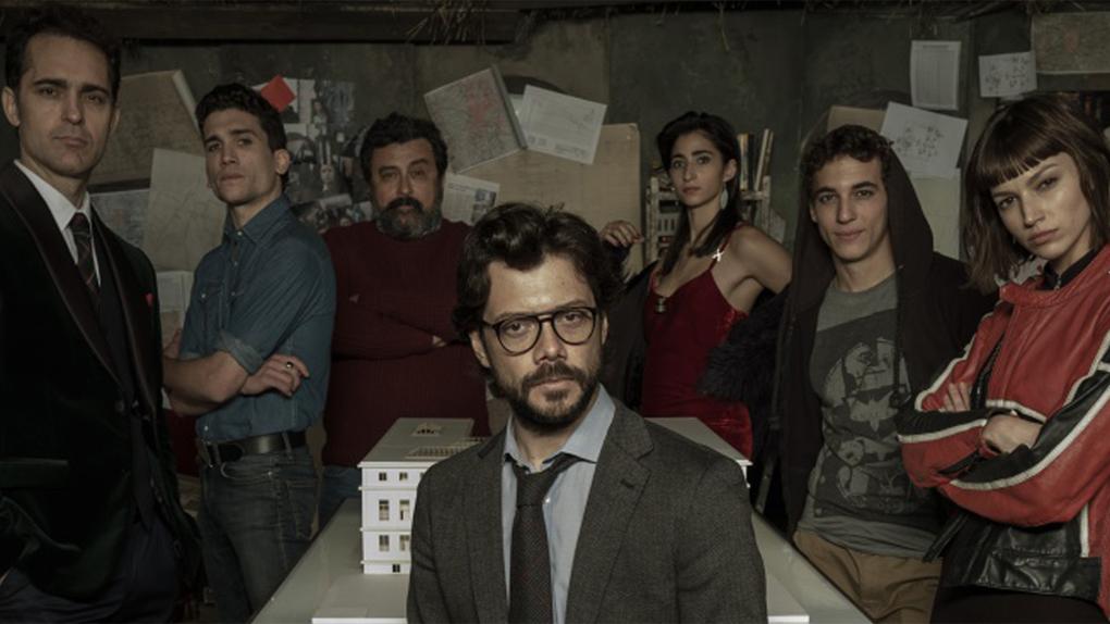 Le Professeur / La Casa de Papel