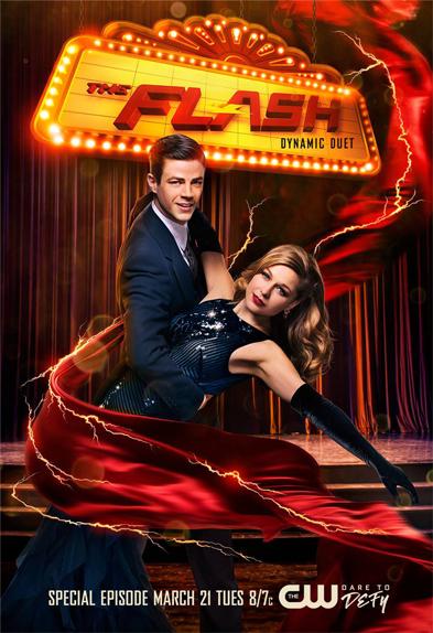 Episode cross-over musical Flash/Supergirl