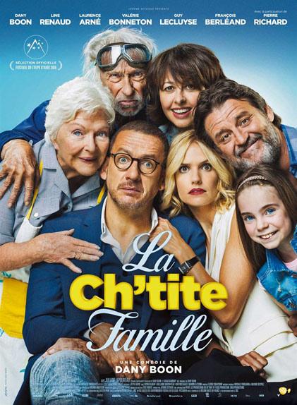 N°1 - La Ch'tite Famille : 2 429 906 entrées