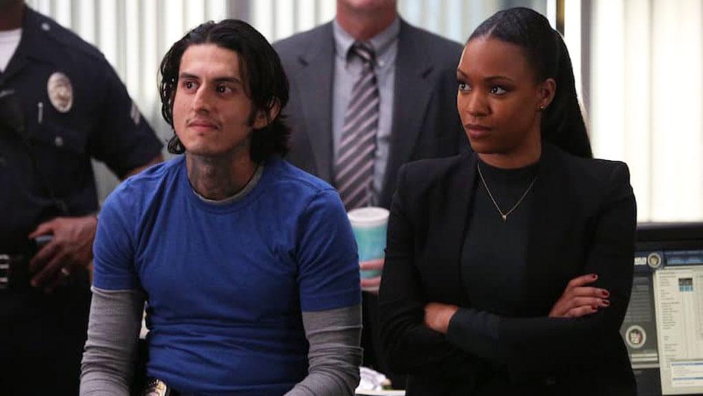 """Cruz et Bailey dans la saison 1 de """"L'arme fatale"""""""