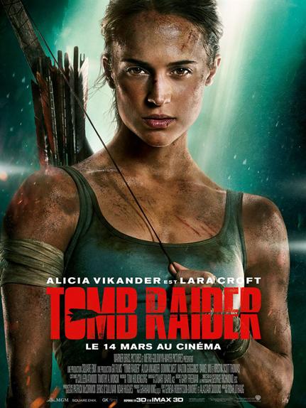 N°5 - Tomb Raider : 179 631 entrées