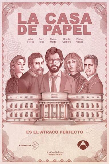La Casa de Papel = La Maison de Papier