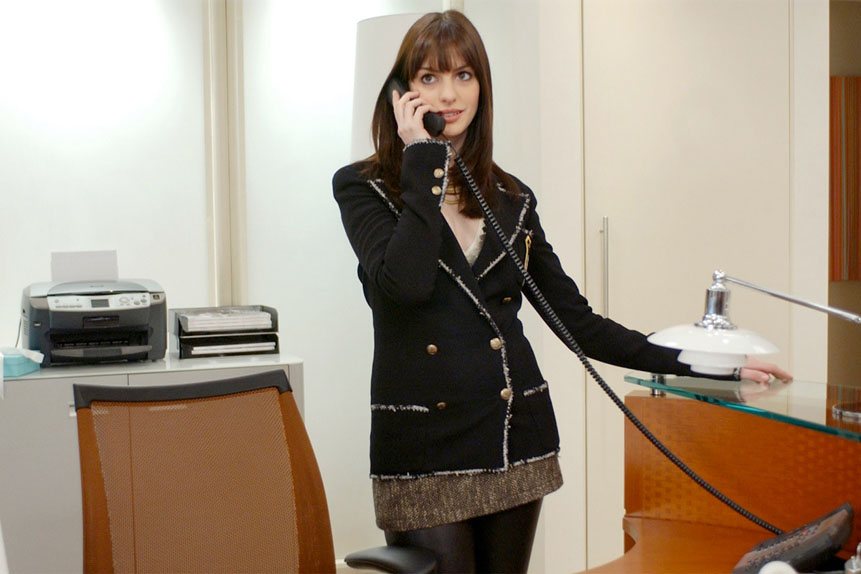 La plus mal employée : Anne Hathaway dans Le Diable s'habille en Prada