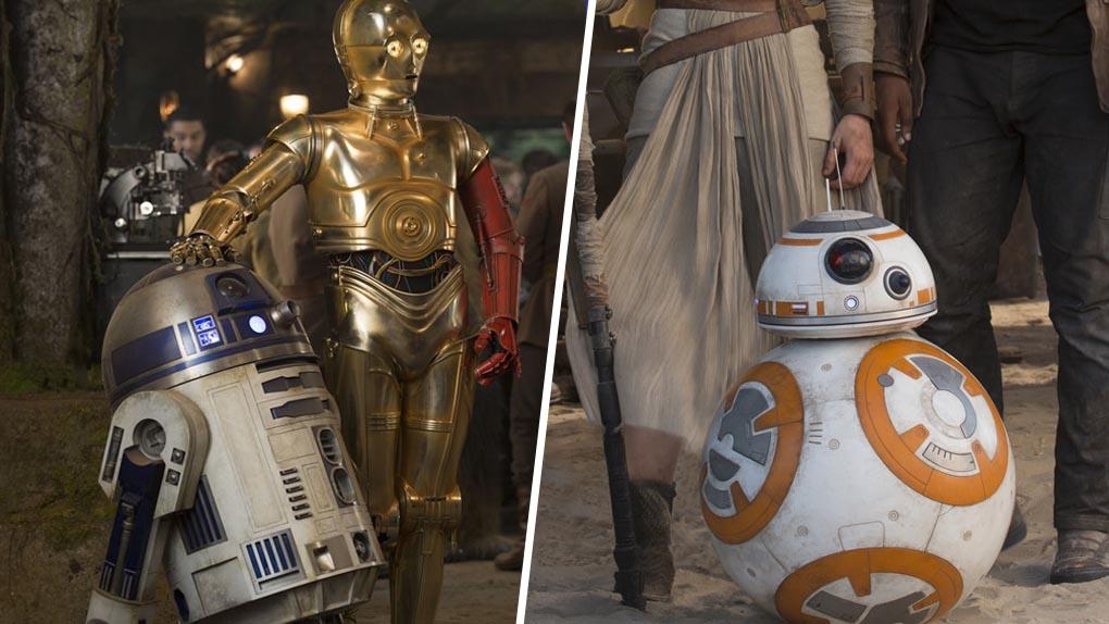 R2D2 / C3PO / BB8 (Star Wars)