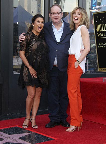 """Eva Longoria, Felicity Huffman et Marc Cherry, le créateur de """"Desperate Housewives"""""""