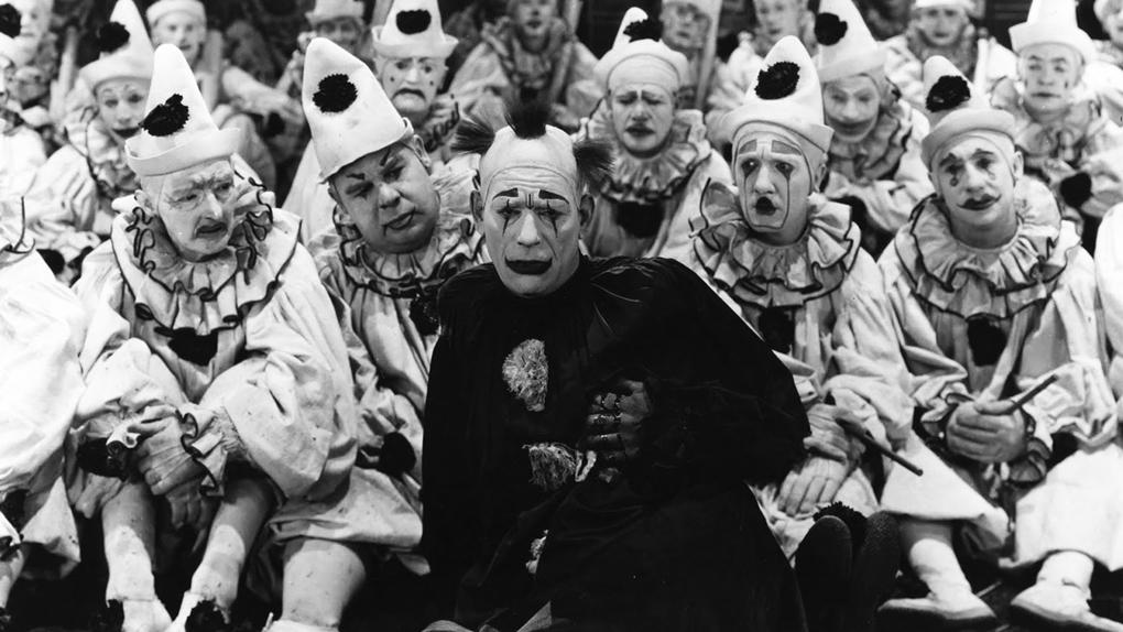 Larmes de clown, de Victor Sjöstrom (1922)