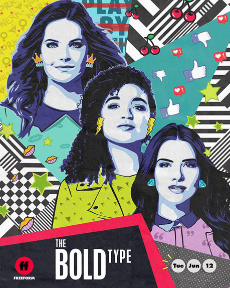 "Le trio de ""The Bold Type"""