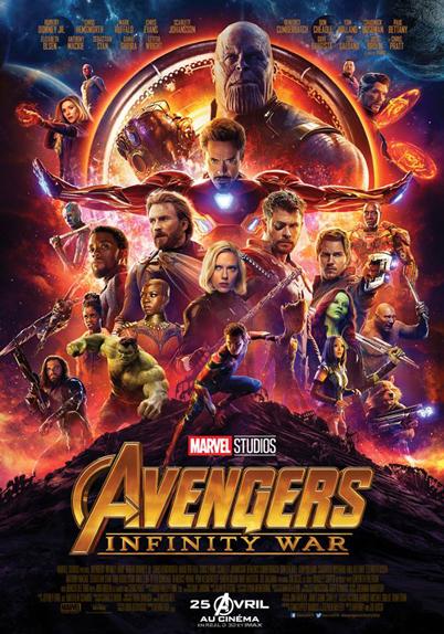 N°1 - Avengers Infinity War : 112,47 millions de dollars de recettes