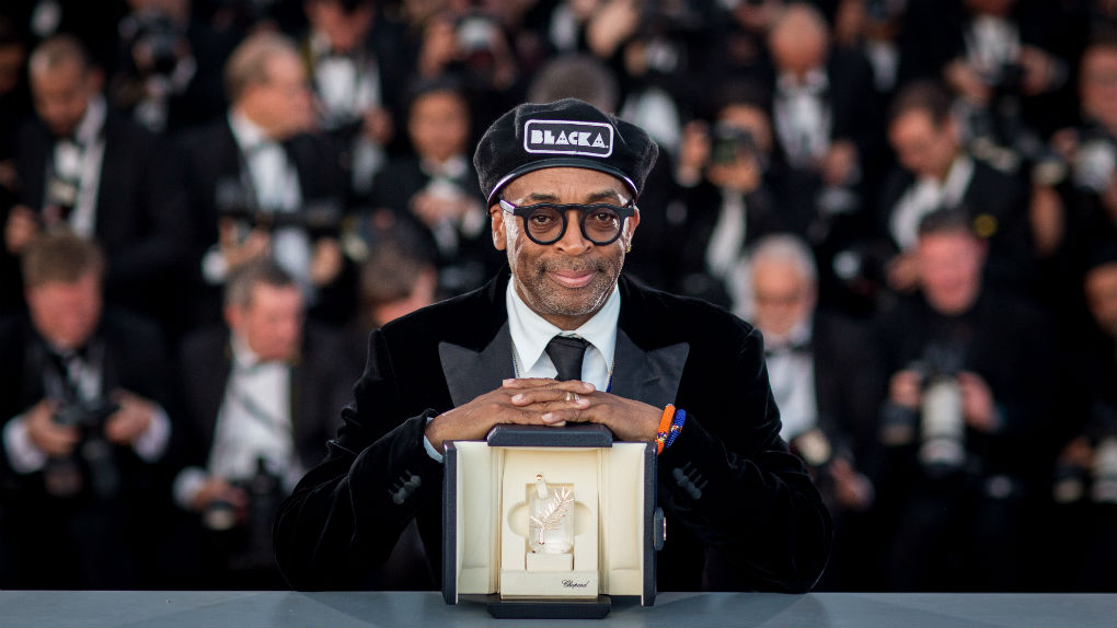 "Spike Lee et son Grand Prix pour ""BlacKkKlansman"""
