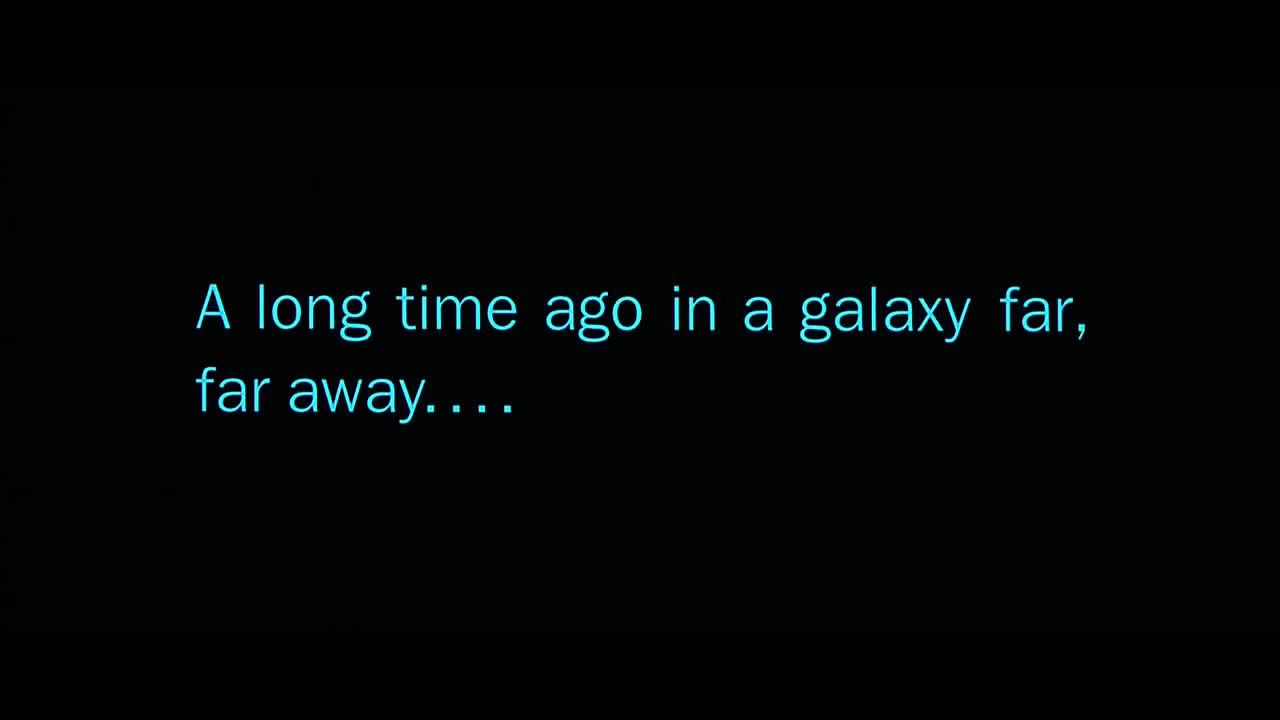 Il y a bien longtemps, dans une galaxie lointaine, très lointaine...