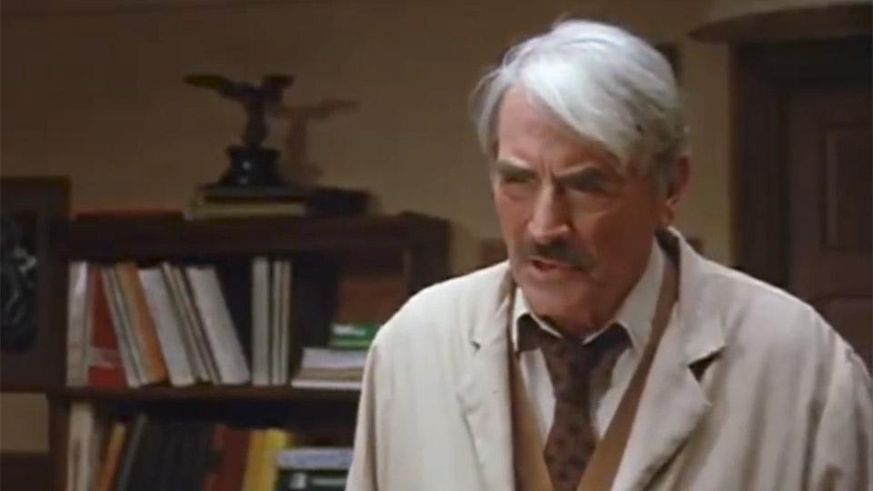 Gregory Peck à 82 ans