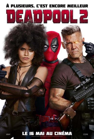N°5 - Deadpool 2 : 5,25 millions de dollars de recettes