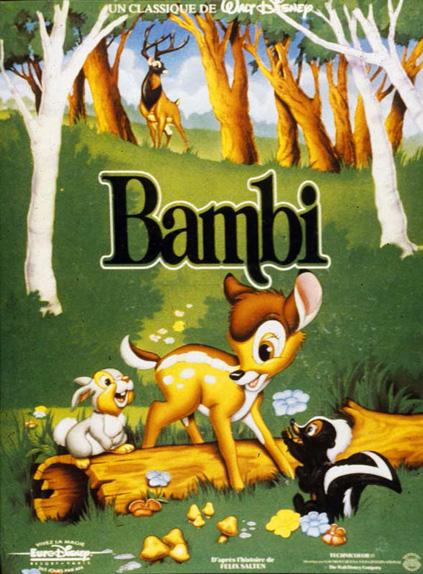 N°8 - Bambi : 10 709 289 entrées