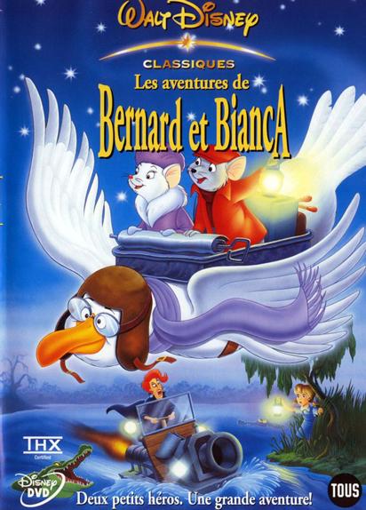N°16 - Les Aventures de Bernard et Bianca : 7 234 163 entrées