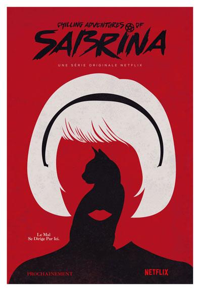 Une première affiche officielle pour Chilling Adventures of Sabrina