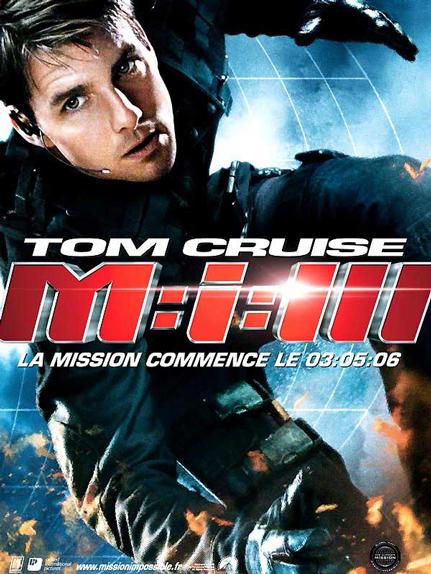N°5 - Mission Impossible III : 397,8 millions de dollars de recettes dans le monde