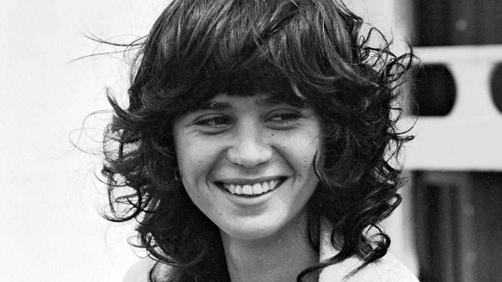 Maria Schneider, au Festival de Cannes en 1975
