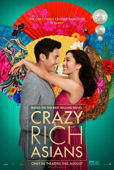N°1 - Crazy Rich Asians : 22,23 millions de dollars de recettes