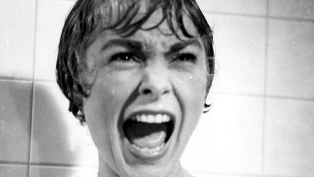 "Janet Leigh dans ""Psychose"""