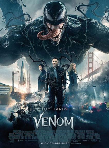 N°4 - Venom :  421 011 entrées