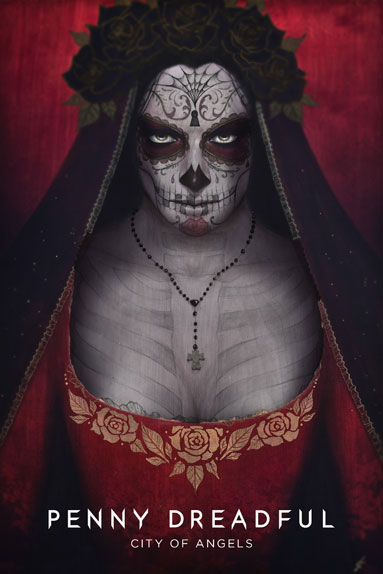 "L'affiche de ""Penny Dreadful : City Of Angels"""