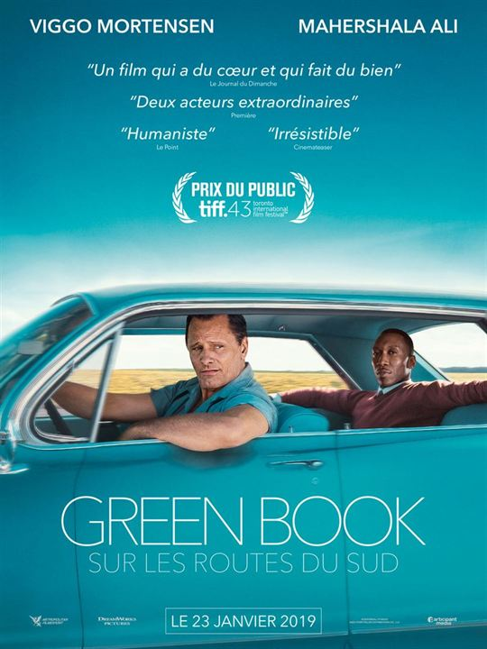 GREEN BOOK - 5 nominations