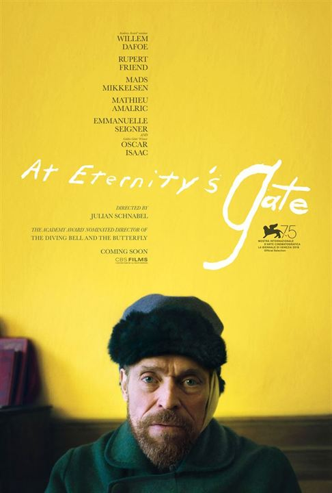 AT ETERNITY'S GATE - 1 nomination