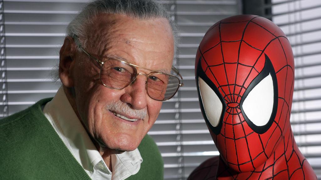 """Le caméo ultime de l'année : Stan Lee dans """"Spider-Man New Generation"""""""