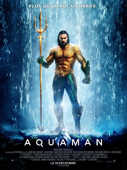 37 - Aquaman (2018) : 1,020 milliard de $