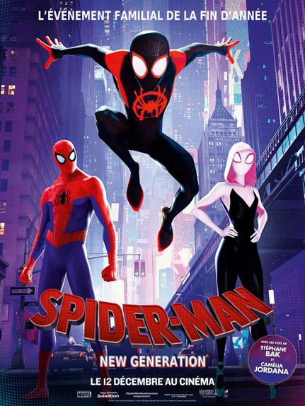 N°5 - Spider-Man New Generation : 7,25 millions de dollars de recettes