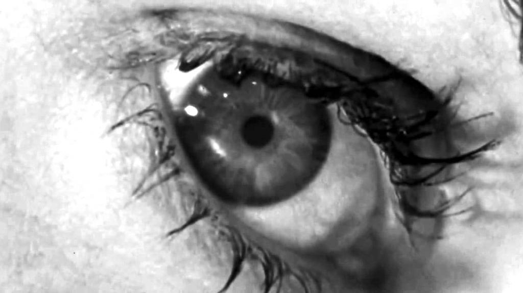 """L'oeil de Marion Crane dans """"Psychose"""" (1960)"""