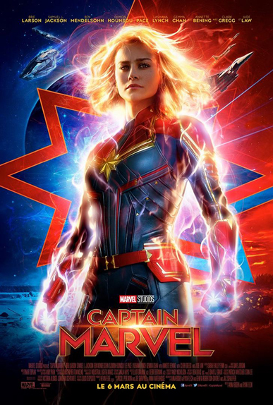 N°39 - Captain Marvel : 1,11 milliard de dollars*