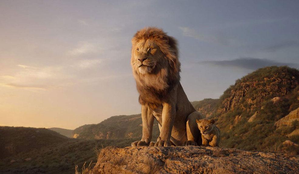 Le Roi Lion avec la voix de Jean Reno