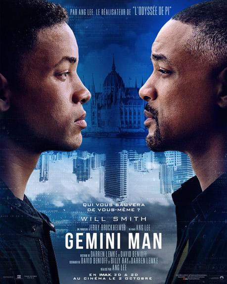 Gemini Man avec Will Smith, Mary Elizabeth Winstead, Clive Owen...