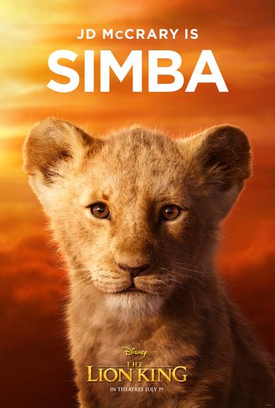 Le Roi Lion Simba Nala Et Mufasa Sur Les Affiches