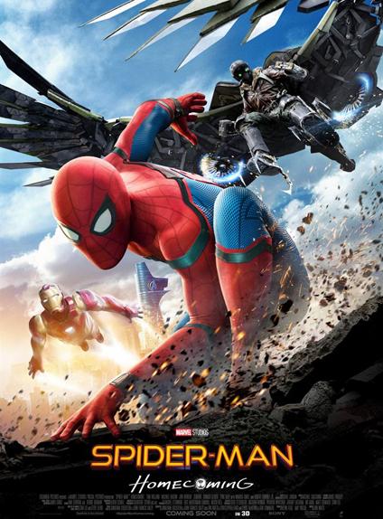 8ème : Spider-Man: Homecoming - 3.4/5