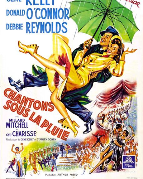 20 - Chantons sous la pluie de Stanley Donen (1953)
