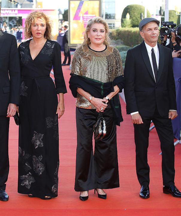 Valeria Golino, Catherine Deneuve et Gaël Morel